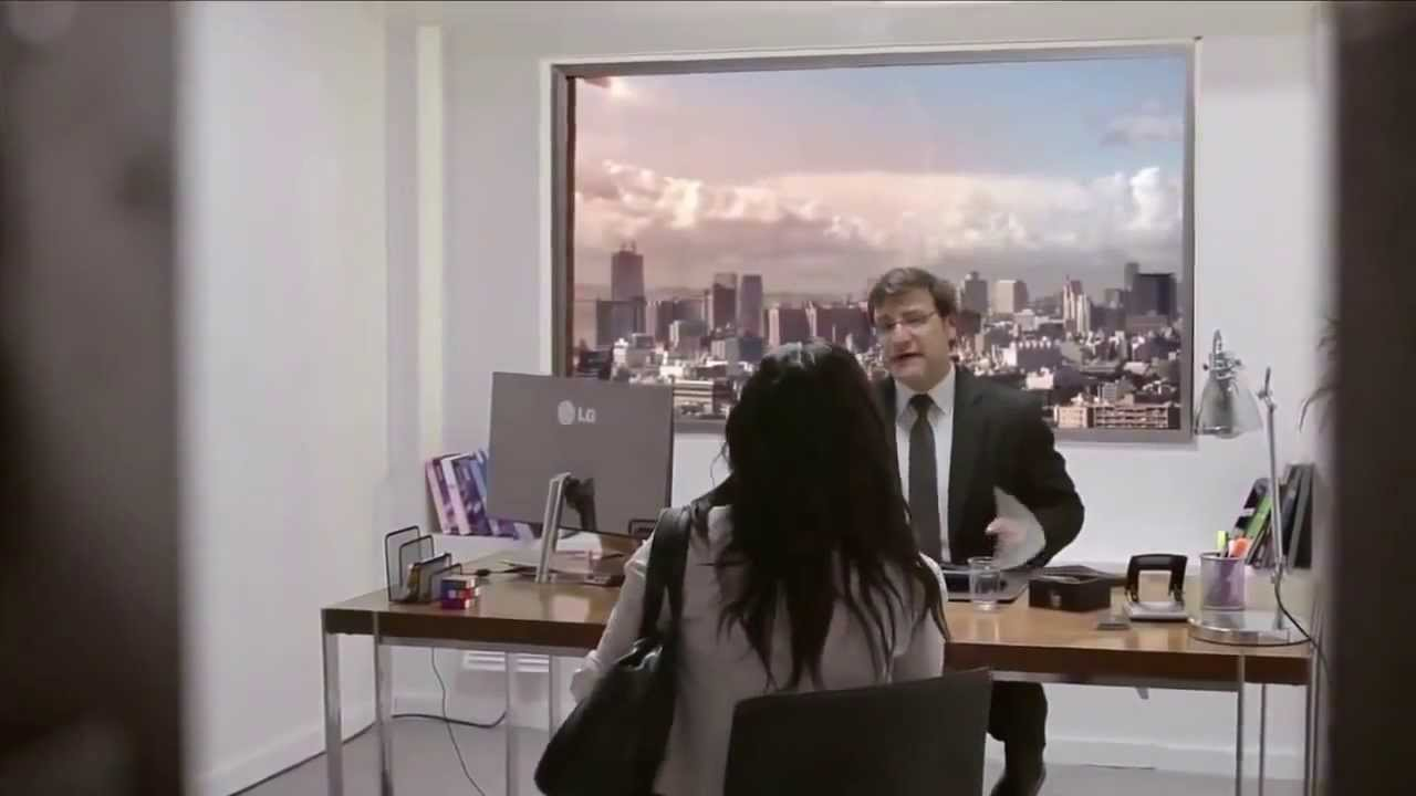 Εκπληκτική διαφήμιση της νέας τηλεόρασης LG